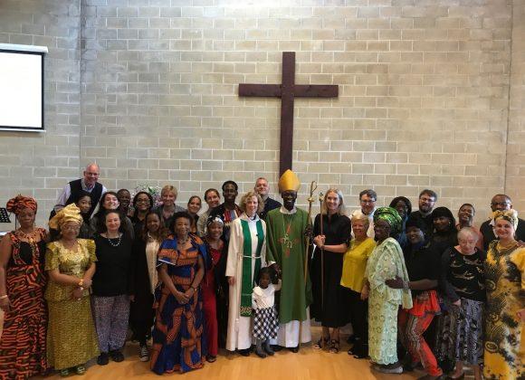 Bishop Karowei's Visit