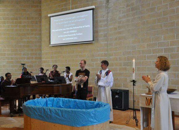 Tom's Baptism