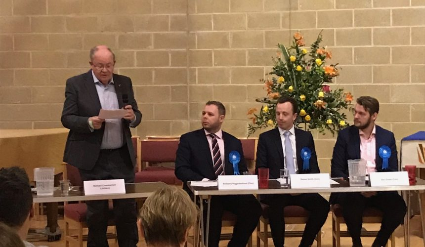 Local Elections Hustings 2018