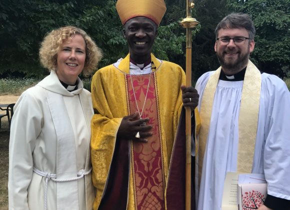 Parish Curate Andrew Ordained Priest