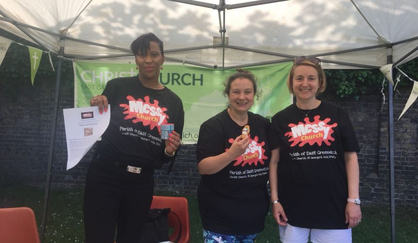 Our Messy Church joins Pleasaunce Summer Event