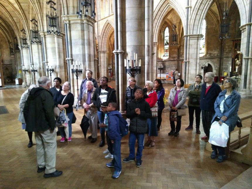Summer Tour of Southwark Cathedral