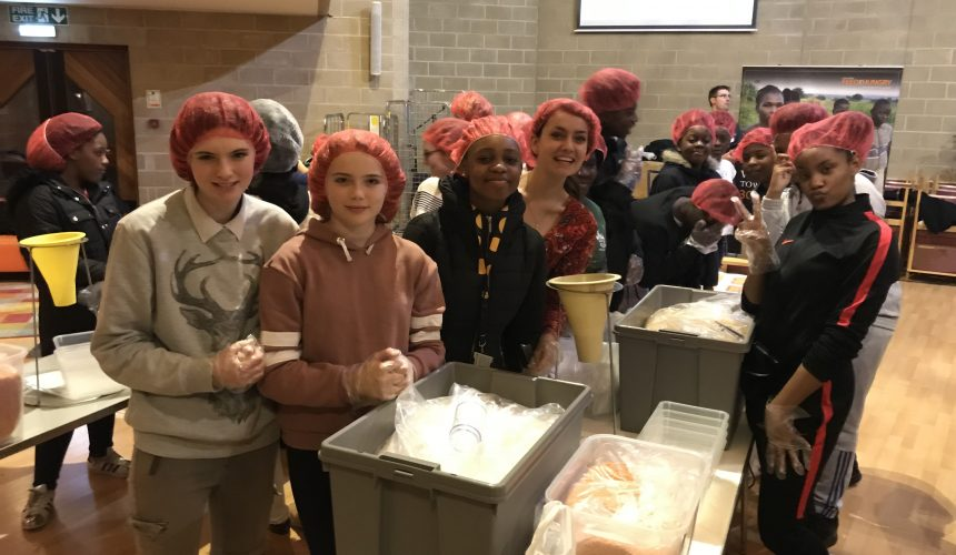 Food Packing Event for Feed the Hungry