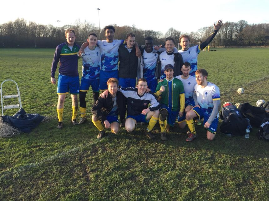 CCEG FC through to the cup semi-final
