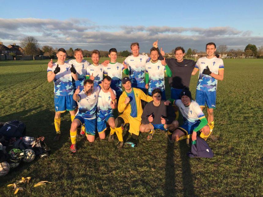 CCEG FC match report